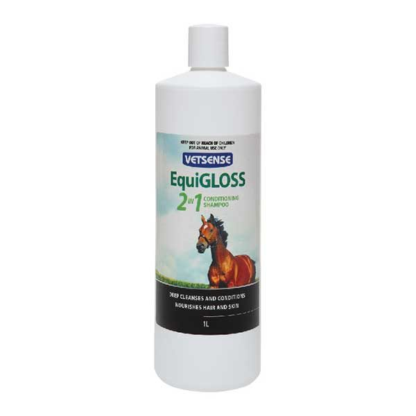 EquiGLOSS 2 In 1 Conditioning Shampoo 01