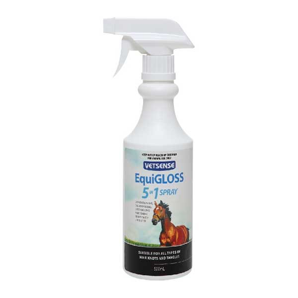 EquiGLOSS 5 In 1 Spray 01