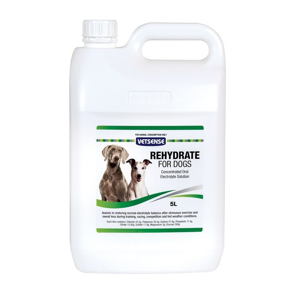 Rehydrate For Dogs 5L